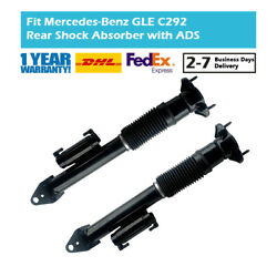 2x Rear Shock Absorbers Ads Fit Mercedes Benz Gle C292 W166 4matic A2923201600