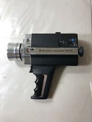 Untested Bell And Howell Focus-matic 672/xl 8.5mm-24mm Zoom Super 8 Camera