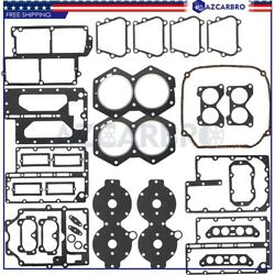 For Johnson Evinrude V4 Crossflow Powerhead Gasket Kit 1982 1983 1984 1985 1986