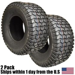 2pk 18x6.50-8 Turf Tires For Garden Tractor Lawn Mower Riding Mowers