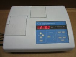 Hach 2100n Is Turbidimeter With 6 Pack Of 2084900 Sample Cell Vials