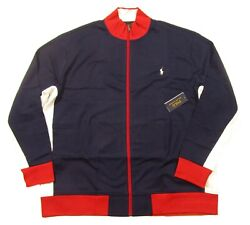 Polo Big And Tall Menand039s Navy Cotton Track Jacket
