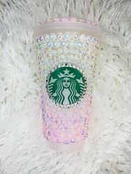 White And Pink Pearl Starbucks Cup 24ozandnbsp