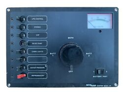 Newmar Battery And Braker Panel Boat Electrical Panel