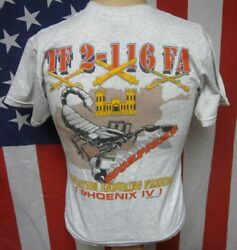 53rd Infantry Brigade Florida Army National Guard Youth Lrg T Shirt Scorpion Tee