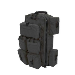 Tactical Medic Pack - Black With Molle Pouches Berry Compliant
