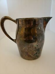 Poodle Club Best Of Variety Trophy Pitcher Sheridan Silver Plated 7 1/2 1966