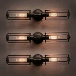 Antique Steampunk Led Wall Sconce Light Industrial Retro Barn Wall Lamp Fixture