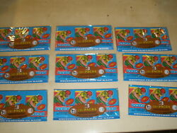 Lot Of 9 - 1979 Topps Football Grocery Tray 3 Sealed Unopened Wax Packs Rare