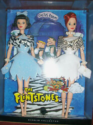 Lot Of 2 Flintstones Pebbles And Bamm Bamm Kelly Dolls Wilma And Betty Barbies Rare