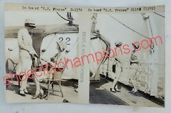 Ss France-french Line Publicity Photographs E. Armstrong Roberts-c1930s Rare