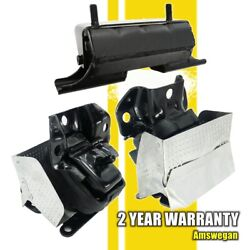 3pcs Motor And Trans Mount Kit For Cadillac Escalade Chevrolet Gmc Tahoe 6.2l 4wd