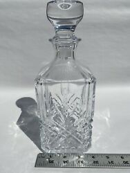 Crystal Decanter Chivas Regal 18 Years Old Scotch Whisky Crystal D'arques Empty