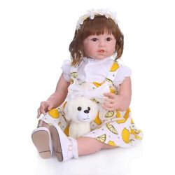 Realistic Soft Silicone Newborn Baby Dolls Realistic Baby Toys For Children