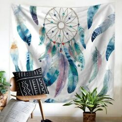 51*59in Indian Mandala Boho Tapestry Hippie Wall Hanging Bedspread Mat Bed Decor