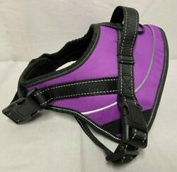Voopet Dog Harness No Pull Easy control Purple and Black