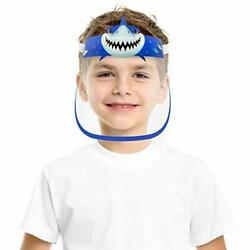 CUTE SMALL KIDS SIZE FACE COVER MASK WITH CLEAR VISOR ELASTIC BAND amp;CONFORT SPON $16.50
