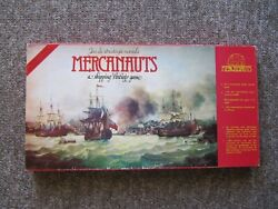 Mercanauts. Rare Shipping Strategy Board Game. French And English. Complete