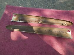 1948, 49, 50 Hudson Left And Right Dash To Windshield Interior Trim Nice Set