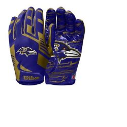 Baltimore Ravens Youth Nfl Stretch Fit Receivers Gloves