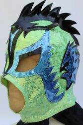 7.-young - Ultimo Dragon -lycra -without Lace Up Back No Zipper- Wrestling Mask