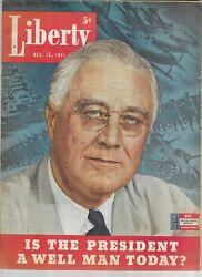 Liberty,dec.13,1961-is The President A Well Man Today Cover Story