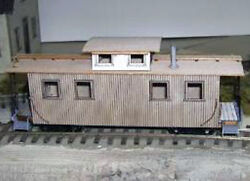 East Broad Top Caboose Model Railroad Freight Car On3 On30 Laser Wood Kit Df110