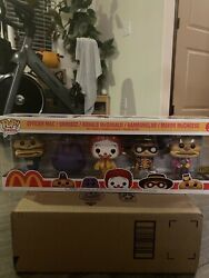 Funko Pop Mcdonalds 5 Pack In Hand Ad Icons Golden Arches Unltd. Exclusive