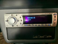 Sony Japanese Import Flip Face Drive S Cd Mp3 W/ Sla-70 And Remote Cdx-f7700