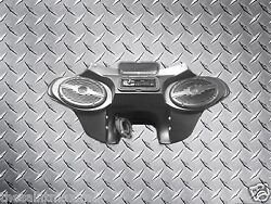 Harley Touring Motorcycle Batwing Fairing 6x9 Speakers And Cd Player Mp3 Radio