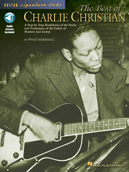 Best Of Charlie Christian Signature Licks For Guitar Lessons Jazz Tab Book Audio