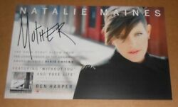 Natalie Maines Mother 2012 Promo Poster 11 X 17 Dixie Chicks Rare