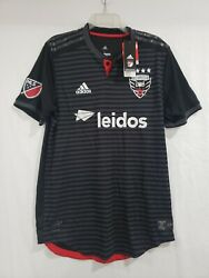 Adidas Dc United 2018 Authentic Home Soccer Jersey Mens 2xl 7418a Climacool Mls