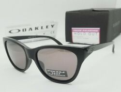 OAKLEY matte black quot;PRIZM DAILYquot; POLARIZED quot;HOLD OUTquot; OO9357 05 sunglasses $99.99