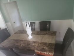 Dining Room Set 6 Chairs Used And Buffet