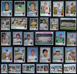 1973 Topps Baseball Cards Complete Your Set U You Pick From List 441-660