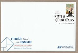 Us 5403 State And County Fairs Ferris Wheel Ceremony Program Fdc 2019