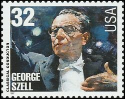 Us 3160 Classical Conductor George Szell 32c Single 1 Stamp Mnh 1997