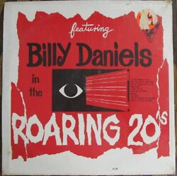 Old Records Dept Sealed Lp - Featuring Billy Daniels In The Roaring 20's - Mono