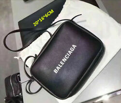 NEW Fashion all match motorcycle bag new BalE nciaga² matte silver PV leather $26.98