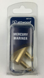 Attwood 8873-6 Fuel Tank Fitting 1/4 In Male Npt Threads