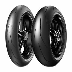 Tire Set Pirelli 120/70zr17 Supercorsa V3 Sc2 + 180/60zr17 Supercorsa V3 Sc1