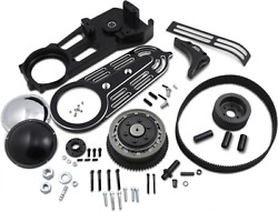 Evs 2in. Belt Drive Kit With Changeable Domes Black Ev-700b