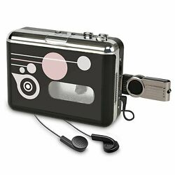 Cassette Player Portable Converter Recorder Convert Tapes To Digital Mp3