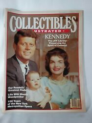 Collectibles Illustrated Magazine-nov/dec 1983-kennedy Jfk The Spirit Of Camelot