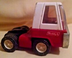 Buddy L Truck Vintage Japan Cabover Semi Red White Restoration As Is 5th Wheel