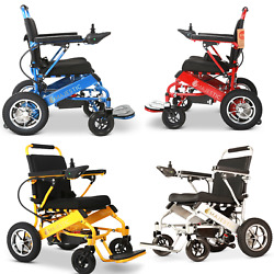 2021 Best New Foldable Perfect Travel Transformers Electric Mobility Wheelchair