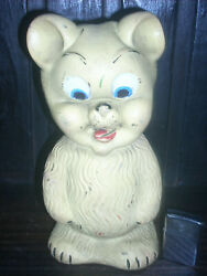 Antique And Rare Jerry Mouse Bootleg Argentina Great Big Rubber Toy Figure
