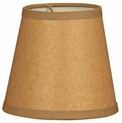 Royal Designs Cs-952-5br/p Parchment Empire Brown Chandelier Lamp Shade Brown