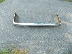 Mercedes 560sl W107 Rear Euro Bumper 380sl 450sl Used Original No Shipping Clean